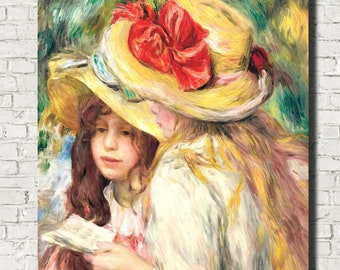 Renoir Fine Art Postcard FREE P/&P !!! Woman with a Hat