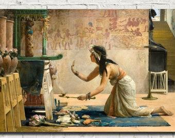 John Reinhard Weguelin D6040 The Tired Dancer 1879 Canvas Gallery Wrapped Giclee Wall Art Print