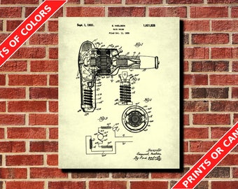 Hair dryer blueprint etsy more colors malvernweather Images