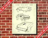 Artculos similares a camping pickup truck patent print car camping pickup truck patent print car blueprint camper trailer poster outdoors decor hiking poster camping car patent malvernweather Images