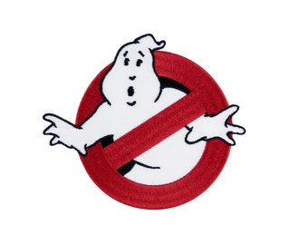 Ghostbusters No Ghosts Logo GB1 Uniform Embroidered Iron On Patch Iron on  Applique 3c93f9f4e642