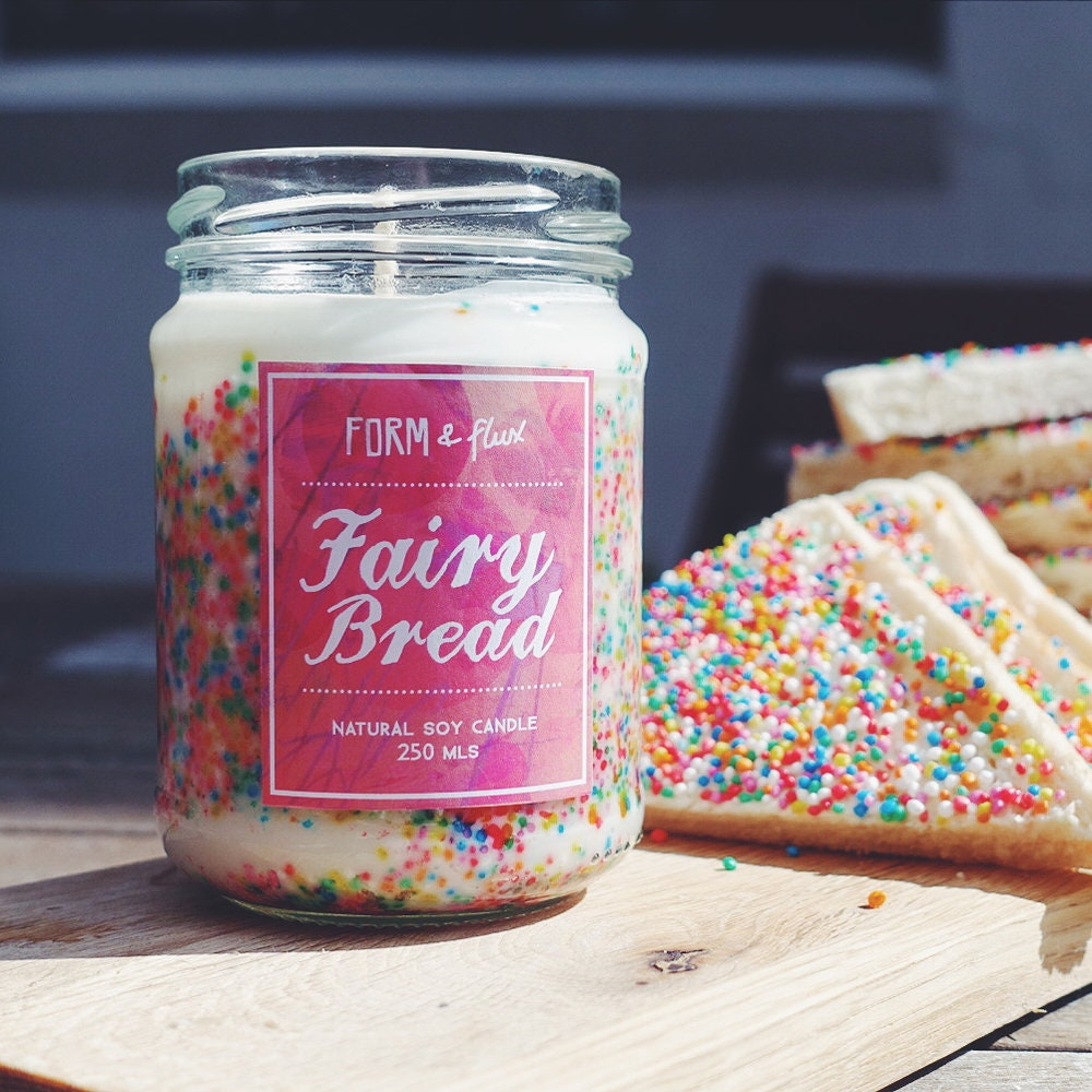 Fairy Bread Jam Jar Candle | Etsy