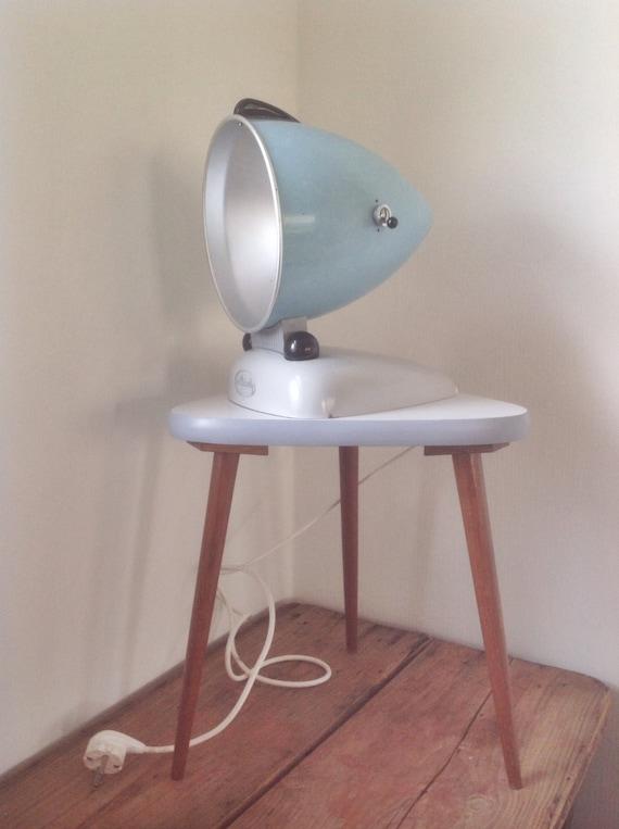 Vintage Sonne Lampe konvertierte Alpinette Hanau 50/60