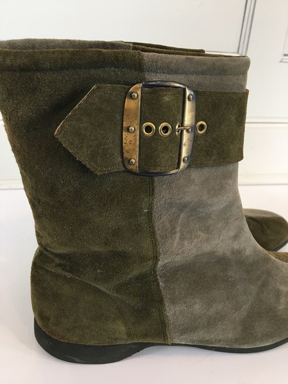 Twiggy London ankle boots.