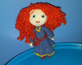 Merida - Brave Disney Princess - Mérida doll