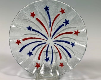Fireworks Bowl, 4th of July dish