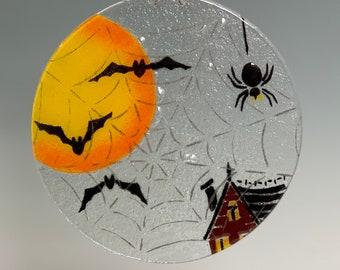 Halloween Suncatcher Spiders and Bats large suncatcher