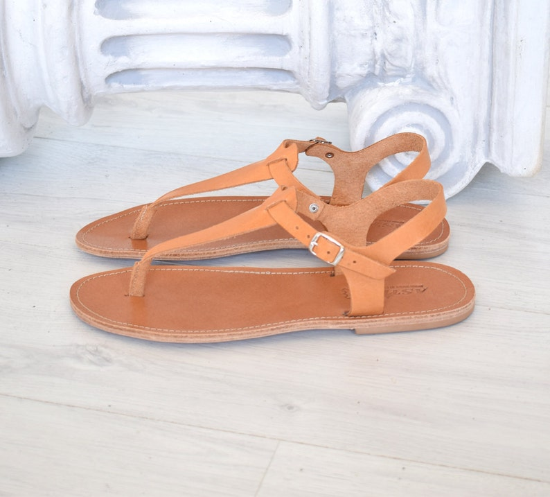 ca44ba1235e45 Ancient Greek leather sandals handmade sandals Spartan
