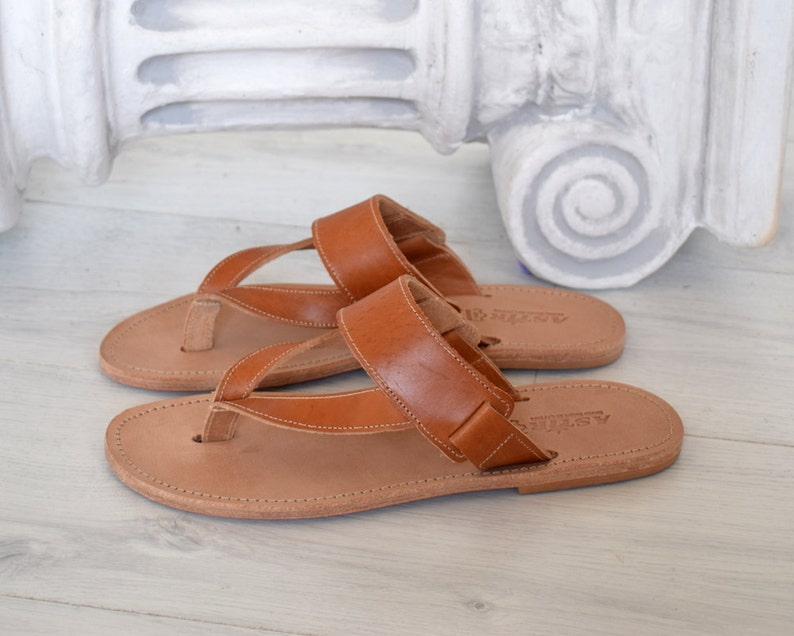 052c208e613436 Delos Men Sandals made with genuine Leather Ancient Sandals