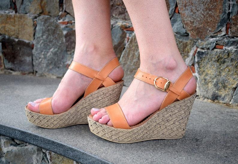 HALAVRA platform shoes, platform sandals, wedges sandals, High Quality Genuine Leather, Ancient Greek leather sandals, Wedding Sandals