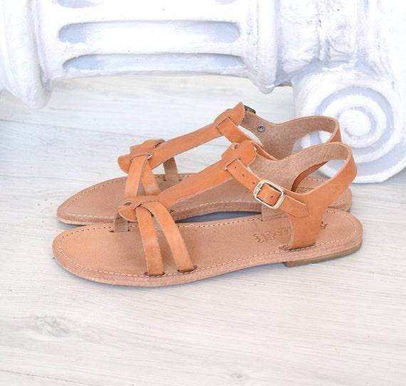 s romaines, sandales sandales sandales à la main, cheville strap sandales, en cuir véritable, sandales grecques, sandales beige, sandales astir, la Grèce antique | Forme élégante  258c9b