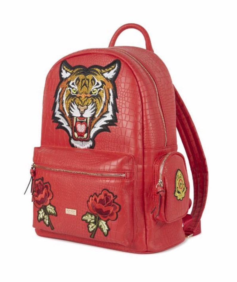 Red tiger backpack