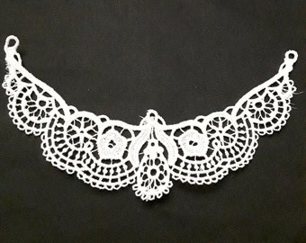 Homemade lace