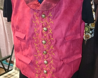 NEW ITEM embroidered waistcoats