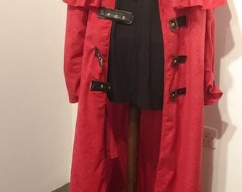 Cosplay red coat