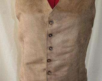 Mens handmade waist coat