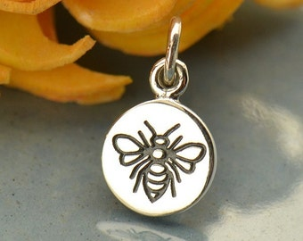 Sterling Silver Bee Charm
