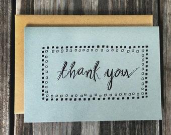 Geometric Wedding Thank You Card Set, Wedding Thank You Cards, Thank You Cards for Wedding