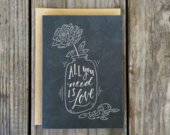1st Anniversary Card for Him, Card for Boyfriend, Card for Wife