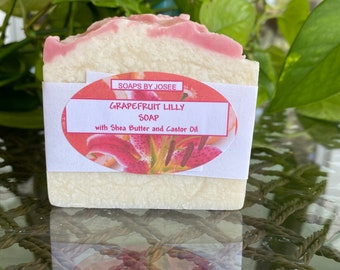 GRAPEFRUIT LILLY Old Fashioned Lye Soap