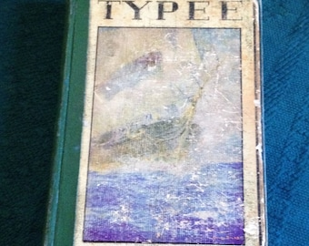 Vintage HERMAN MELVILLE  Typee: A Romance Of The South Seas Library The Golden Books David Mckay Publisher