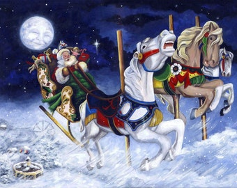 """Christmas Card–""""When Reindeer Can't Fly"""""""