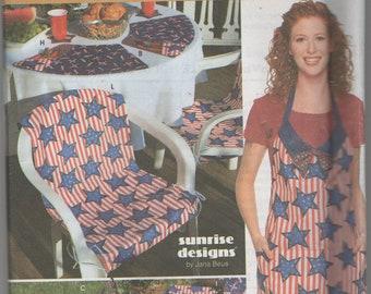Silhouettes McCalls 7209  NIP Chair Leg Halloween Pattern  Misses Aprons