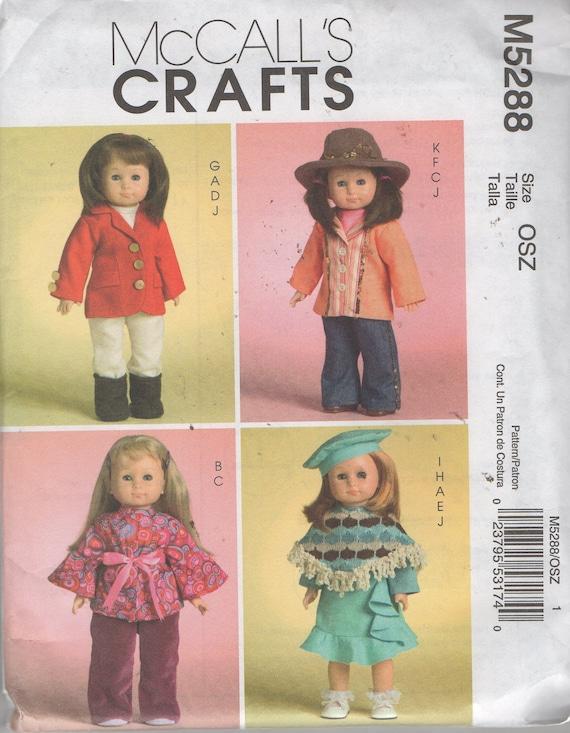 18 Puppenkleidung Nähen Muster Hippie Oberteil Hose | Etsy