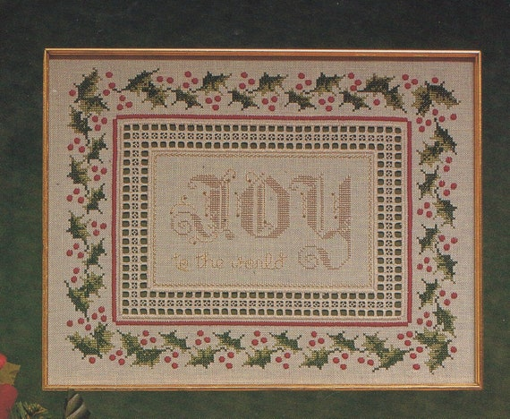 Counted cross stitch Spirit of Shaker antique sampler pattern chart booklet Americana