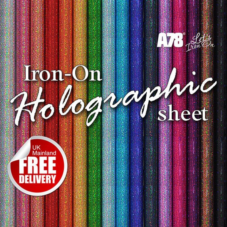 Rose Gold Iron-on Plain Vinyl Sheet Hot-Fix Transfer 20x25cm Heat Craft HTV