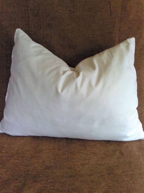 Feather And Down Lumbar Pillow Insert 40x40 40x40 40x40 40x40 Etsy New 15 X 23 Pillow Insert