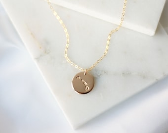 Hawaii State Necklace - 14k Gold Filled, 14k Rose Gold Filled, or Sterling Silver - Personalized Necklace - Gift for Her - Home Necklace