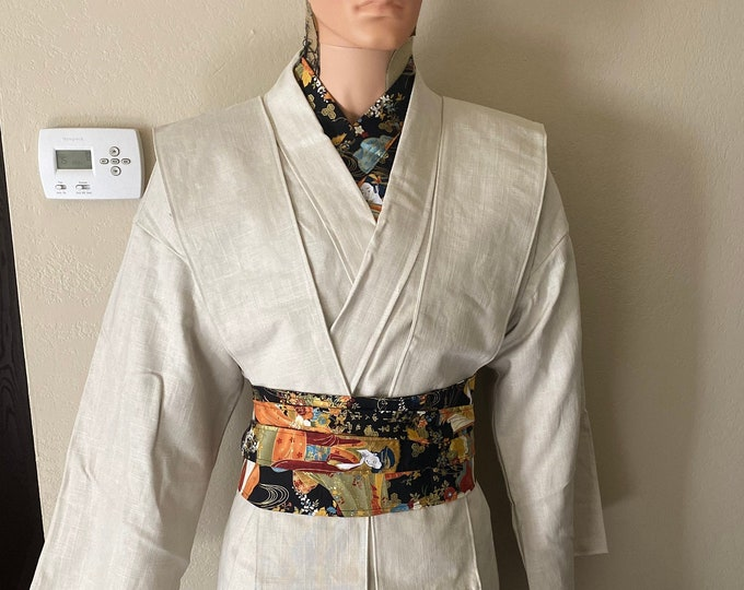 Star Wars Inspired jedi Tunic with Tabards and Obi set Ready to Ship