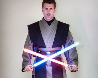 Grey Jedi Star Wars Inspired Sith/jedi Tunic, Tabards , Obi set