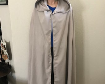 Star Wars Inspired Luke Skywalker Cape  made with Linen ready to ship