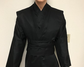 Star Wars Inspired Sith/jedi Tunic, Tabards , Obi set SIZE MEDUIM