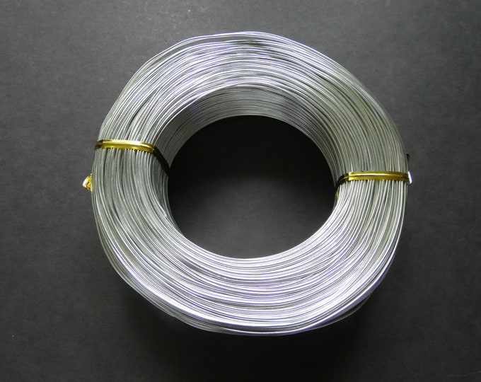 200 Meters Of 1mm Silver Aluminum Jewelry Wire, 18 Gauge Wire, 500 Grams Of Beading Wire, Silver Wire For Jewelry Making & Wire Wrapping