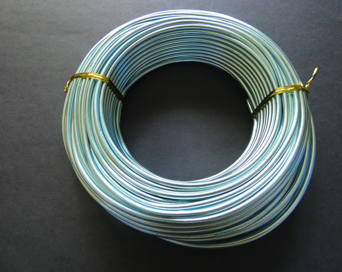 25 Meters Of 3mm Turquoise Jewelry Wire, 3mm Diameter, 500 Grams Of Beading Wire, Blue Metal Wire For DIY Jewelry Making & Wire Wrapping