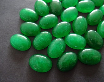 Green Serpentine oval cabochon 28x20mm natural stone gems cabochon for ring
