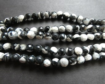 XL Heated Agate 20x30mm Faceted Oval Rice beads 16 strand Size varies For jewelry making