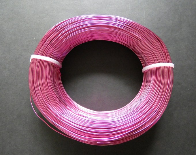 200 Meters Of 1mm Bright Red Aluminum Jewelry Wire, 1mm Diameter, 500 Grams Of Beading Wire, Red Metal Wire, Jewelry Making & Wire Wrapping