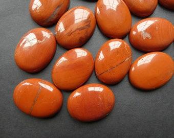 Loose Gemstone Cabochon \u2013 Designer Cabochon \u2013 for jewelry making 20x30 mm Freeform Cabochon Red Imperial Jasper Cabochon