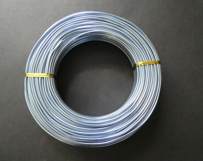 55 Meters Of 2mm Lilac Aluminum Jewelry Wire, 2mm Diameter, 500 Grams Of Beading Wire, Purple Metal Wire For Jewelry Making & Wire Wrapping