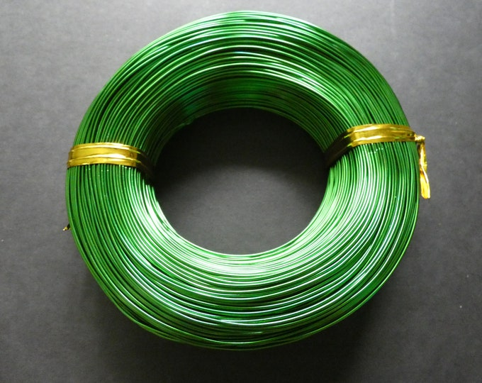 200 Meters Of 1mm Green Aluminum Jewelry Wire, 1mm Diameter, 500 Grams Of Beading Wire, Green Metal Wire For Jewelry Making & Wire Wrapping