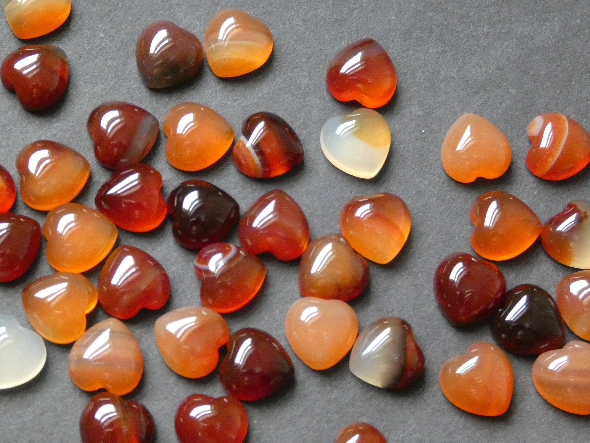 Details about  /Lovely Lot Natural Carnelian 10X14 mm Octagon Faceted Cut Loose Gemstone AB01