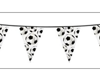 Football Party Banner, party decoration, party banner, party supplies, football party, World Cup banner, UK seller, football
