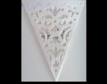 Vintage Cutout Wedding Banner, rustic, wedding decoration, wedding banner, wedding supplies, party banner, celebration banner, UK seller