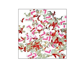 Hen Party L Plate table confetti, hen party, bridal shower, L plate confetti, weddings, wedding supplies, table decorations, UK seller