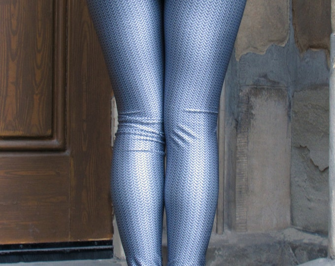TAFI Chainmail Armor Leggings - Fine Chainmaille Cosplay Armour - Galaxy 3D Printed Costume Dance Theatre Yoga Pants