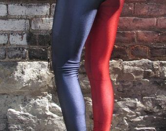 TAFI Harley Quinn Comic Leggings - Batman Dr Quinn Suicide Squad Costume or Yoga Pants DC Joker Super Hero CosPlay Print